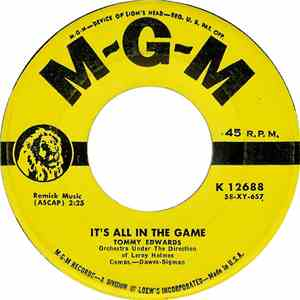 Tommy Edwards - It's All In The Game download